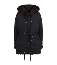 Bogner Lola Reversible Parka Coat Female Black
