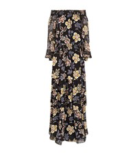 Tory Burch Off The Shoulder Floral Dress Female Multi