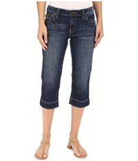Kut From The Kloth Natalie Crop Jeans In Vagos Vagos Women's Jeans Blue