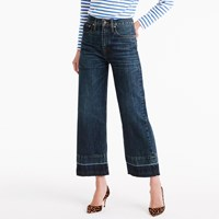J.Crew Point Sur Culotte Jean In Blue Poppy Wash