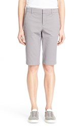 Women's Vince Side Buckle Bermuda Shorts Fossil