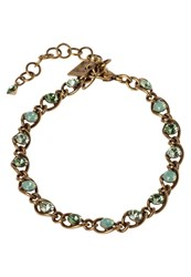 Konplott Magic Fireball Bracelet Green Antique Brass Silver