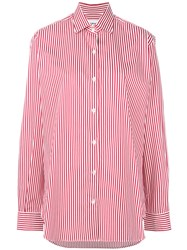 Department 5 Striped Shirt Red