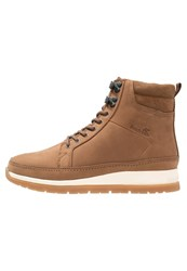 Boxfresh Loadha Laceup Boots Mid Brown