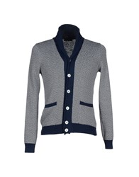 Zanone Knitwear Cardigans Men Blue