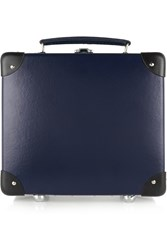 Globe Trotter 9' Leather Trimmed Fiberboard Vanity Case