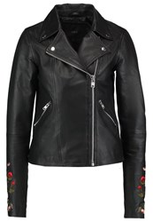 Yas Tall Yasruba Faux Leather Jacket Black
