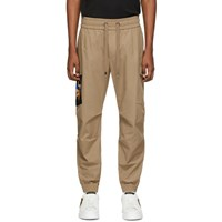 Dolce And Gabbana Beige Patch Cargo Pants