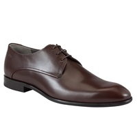 Boss Logo Boss C Dresio Leather Lace Up Shoes Brown