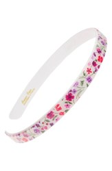 France Luxe Skinny Headband Piccadilly Purple Pink