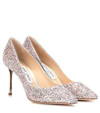 Jimmy Choo Romy Embellished Pumps Silver