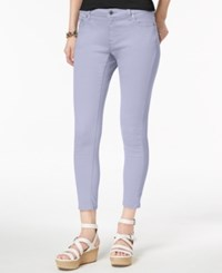 Michael Kors Izzy Skinny Ankle Jeans Regular And Petite A Macy's Exclusive Style Light Quartz