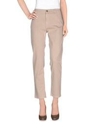 Gold Case Trousers Casual Trousers Women Beige