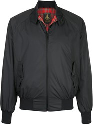 Hysteric Glamour Zipped Bomber Jacket Polyester Black