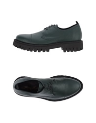 Bruno Bordese Lace Up Shoes Dark Green