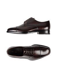 Tom Ford Lace Up Shoes Dark Brown