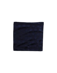 Roberto Cavalli Square Scarves Dark Blue