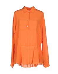 Mauro Grifoni Shirts Blouses Women Orange