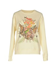 Frankie Morello Sweatshirts Light Yellow