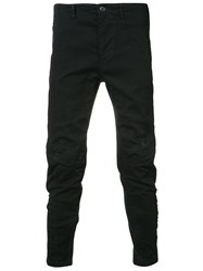 Julius Tapered Trousers Black