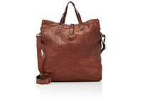 Campomaggi Women's Perforated Tote Bag Brown