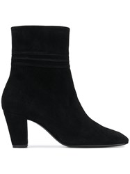 Dorateymur Square Toe Ankle Boots Black