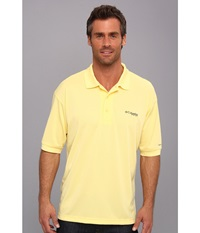 Columbia Perfect Cast Polo Sunlit Men's Short Sleeve Pullover Yellow