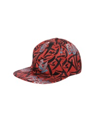 Marc By Marc Jacobs Hats Red