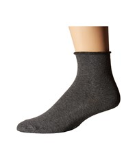 Richer Poorer Helena Ankle Charcoal Women's Crew Cut Socks Shoes Gray