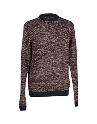 Anerkjendt Knitwear Jumpers Men Dark Purple