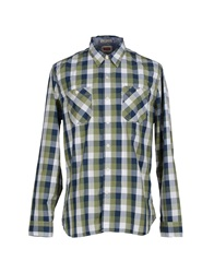 Levi's Red Tab Shirts Military Green