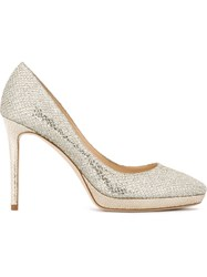 Jimmy Choo 'Hope' Pumps Metallic