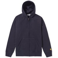 Carhartt Hooded Chase Jacket Blue
