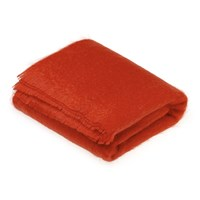 Bronte By Moon Mohair Throw Flame