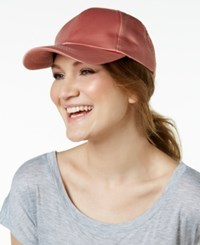 Collection Xiix Satin Baseball Cap Rose Gold