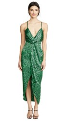 Fame And Partners The Jami Dress Leopard Mojito