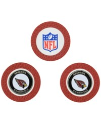 Team Golf Arizona Cardinals 3 Pack Poker Chip Markers Red