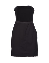 Atos Lombardini Short Dresses Black