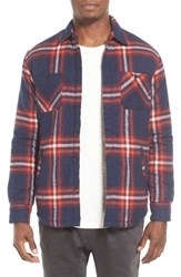 Quiksilver Men's The Game Player Fleece Lined Flannel Shirt