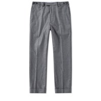 Beams Plus Stretch Flannel Clinch Trouser Grey