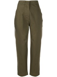 Margaret Howell Clinched Back Cropped Trousers 60