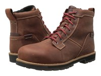 Keen Utility Seattle 6 At Waterproof Gingerbread Brick Red Work Boots Brown