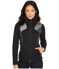 Spyder Lolo Full Zip Mid Wt Stryke Jacket Black Women's Coat