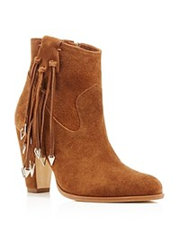 Matisse Kate Bosworth Emma Fringe High Heel Booties