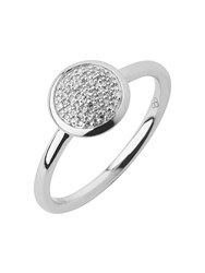 Links Of London Diamond Essentials Pave Ring Ring Size P Silver