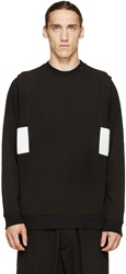 Public School Black And White Colorblocked Pullover