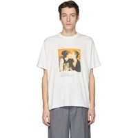 Our Legacy Off White First Kiss T Shirt