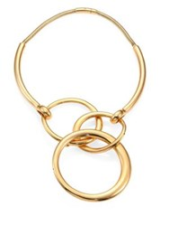 Maiyet Orbit Collection Statement Necklace Gold