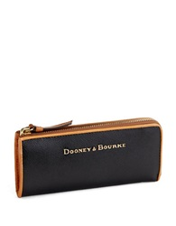 Dooney And Bourke Claremont Leather Wallet Black