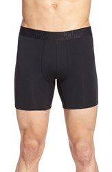 Men's Naked 'Signature' Modal And Cotton Boxer Briefs Black